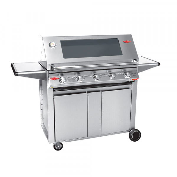 S3000 Barbecue à gaz BeefEater 5 Brûleurs - Surface de cuisson en fonte