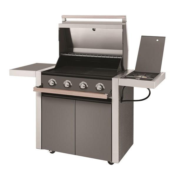 1500 Series - Barbecue 4 Brûleurs avec chariot