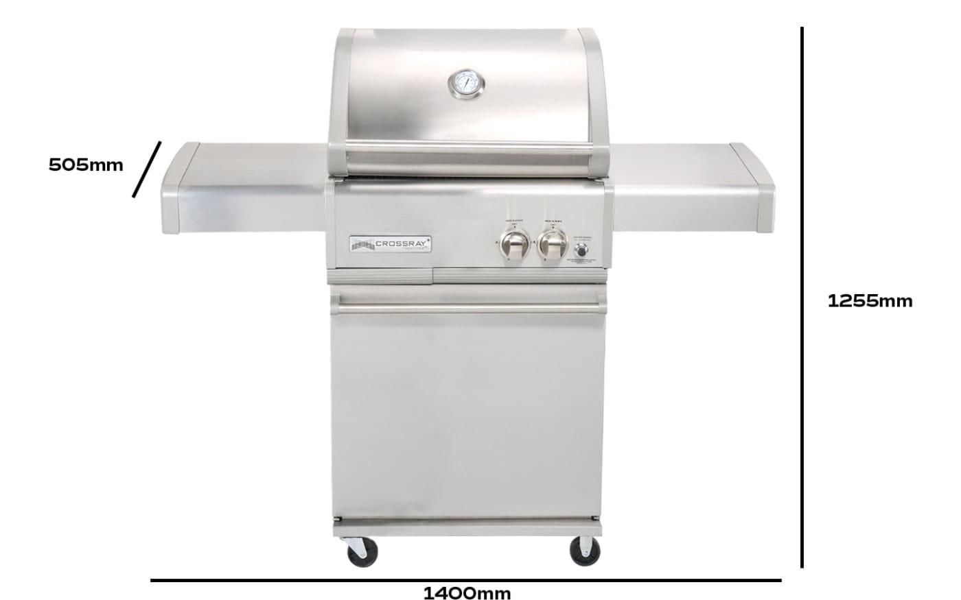 barbecue-a-gaz-a-2-bruleurs-sur-Chariot