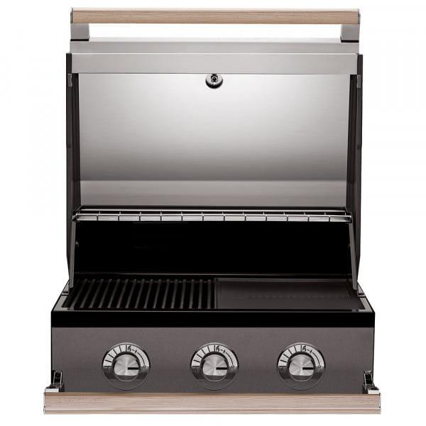 BeefEater 1500 barbecue à gaz encastrable - 3 Brûleurs