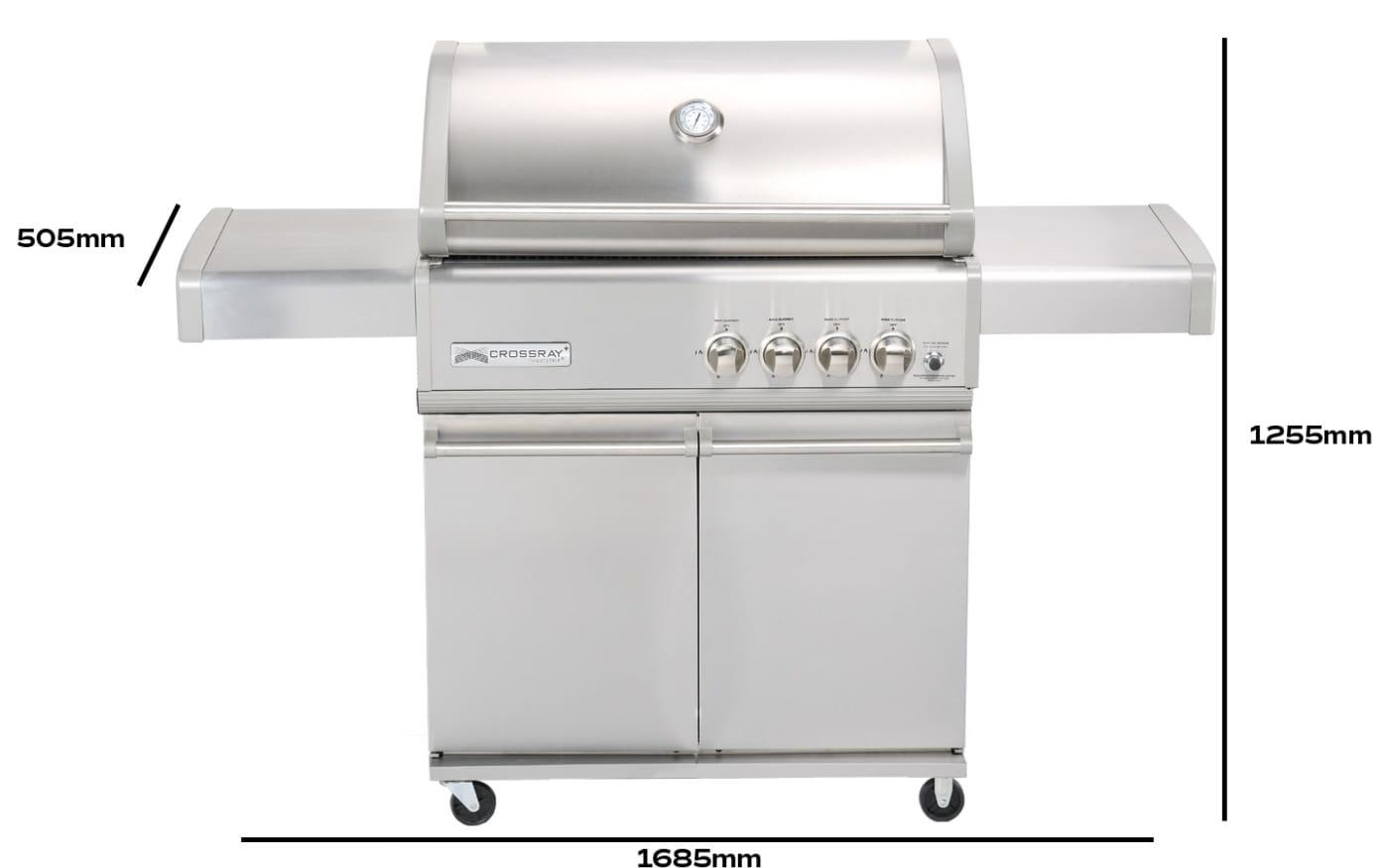 barbecue-a-gaz-a-4-bruleurs-sur-Chariot