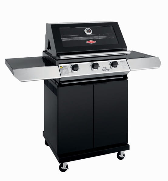 1200E Series - Barbecue 3 Bruleurs avec chariot