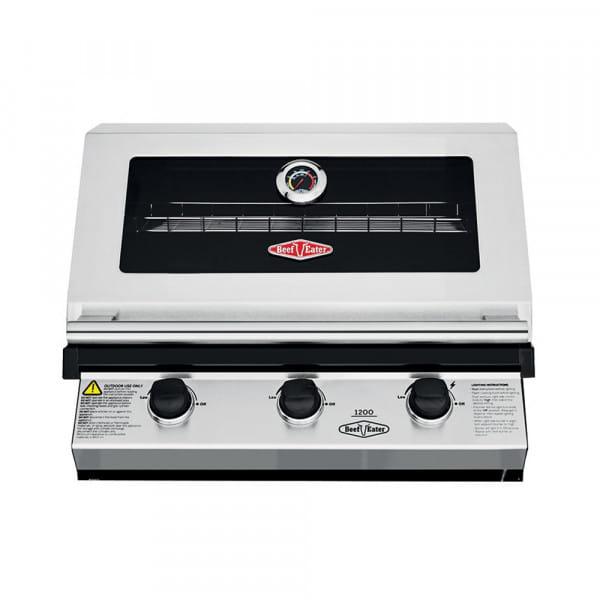 Beefeater 1200S Barbecue à gaz encastrable - 3 brûleurs