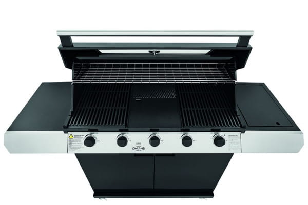 1200E Series - Barbecue 5 Bruleurs avec chariot