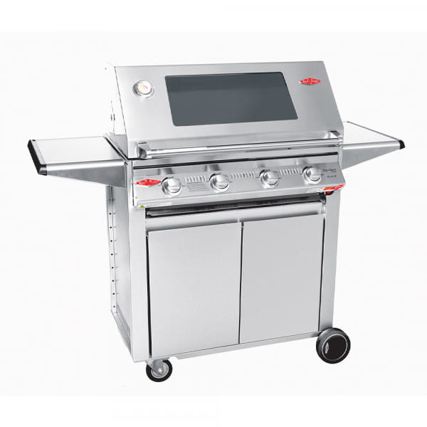 S3000 Barbecue à gaz BeefEater 4 Brûleurs - Surface de cuisson en acier inoxydable